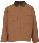 NEW! BERNE DUCK INSULATED CHORE COAT JACKET, CH416BD