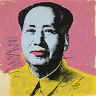 "30W""x30H"" MAO ZEDONG 1972 by ANDY WARHOL -CHINESE LEADER CHINA CHOICES of CANVAS"
