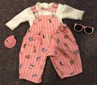 Amerucan Girl Doll Bitty Baby Penguin Overall Outfit