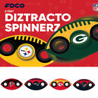 NFL Team Logo 2 Two Way Diztracto Fidget Hand Spinners PICK YOUR TEAM