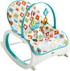 Battery Operated Fbaby isher-Price Infant-to-Toddler Feeding Rocker Geo Diamonds