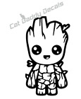 Groot Baby Groot Disney Decal Sticker Yeti Car ALL DECALS BU