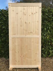 TWIN PANELLED Wooden HEAVY DUTY FRAMED Solid Boarded Exterior Door ALL SIZES