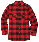 Motorcycle Cotton Flannel LumberJack Shirt CE Kevlar Protection
