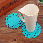 Hollow Silicone Coaster Pad Coffee Hot Tea Cup Mat Heat Insulation Blue