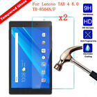 2Pcs Genuine Tempered Glass Screen Protector For Lenovo TAB 4 8.0/Tab 4 8.0 Plus