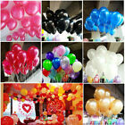 100pcs Colorful Latex Balloon Celebrate Party Wedding Birthday Decoration Us