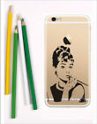 Audrey Hepburn iPhone  ultra thin 6 6s 7Plus Case Cover Soft Silicone Phone