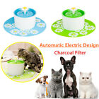 1.6L Electric Automatic Pet Water Fountain Dog/Cat Pet Filtered Drinking Bowl AU