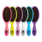 Professional Salon Wet Brush Detangling Hairbrush Hairstyles Soft Bristles Prop
