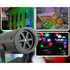 Snowflake Indoor/Outdoor Landscape Projector Moving Laser Xmas Stage Lights