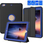 Protective iPad 2 3 4 5 Mini Air Smart Cover + Defender Shockproof Hard Case