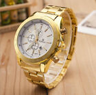 Men Luxury Stainless Steel Quartz Alloy Case Sport Army Military Wrist Watch US