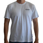New Men's Afends NYC Short Sleeve Tee Shirt Top White
