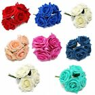 5 - 60 Colourfast Artificial Foam Roses x 9cm - Choice of Colour -Wedding Flower