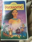 POCAHONTAS Walt Dianey Masterpiece Collection Vhs Tape 1996 #5741 Pre-Owned