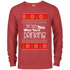 Christmas Ugly Sweater Funny Drinking Hoodies sweaters