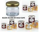MINI GLASS JARS JAM HONEY FOR HOME MADE JAMS HOTELS B&B MOTELS WEDDINGS EVENTS