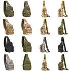 Military Chest Bag Outdoor Travel Crossbody Shoulder Sling Backpack Pouch Hiking