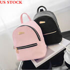 Fashion Women Leather Backpacks Mini Travel Rucksack Handbags School Bag USA