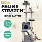 62'' Pet Cat Scratcher Post Tree Toys Gym Condo Furniture Tower Kitten Play Toy