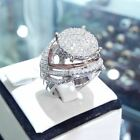 14k White Gold 1.50 Ct Round Cut Diamond Ladies Engagement Wedding Bridal Ring