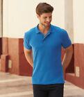 Fruit of the Loom Heavy Poly/Cotton Piqu Polo Shirt