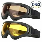 Ski Goggles, Pack Of 2, Snowboard Goggles For Kids, Boys &Amp; Girls, Youth, Men