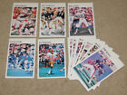 "1981 MARKETCOM NFL 5.5"" x 8.5"" MINI POSTER - CHOICE OF PLAYER! (Free Shipping)"