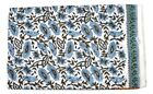 Cotton Voile Fabric Natural Crafting Hand Block Print fabric By the yard V-105