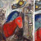 "30Wx36H"" SELF PORTRAIT WITH CLOCK by MARC CHAGALL JESUS DONKEY CHOICES of CANVAS"