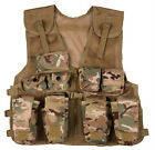 KIDS ARMY TACTICAL ASSAULT VEST - MTP - ONE SIZE FITS ALL - NEW - FREE POSTAGE