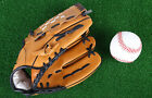 Baseball Gloves Man Woman Training Outdoor Sports Brown Softball Left Hand Glove