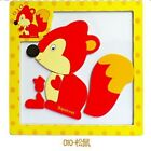 3D Magnetic Puzzle Jigsaw Wooden Toys Cartoon Animals Puzzle Educational Toy New