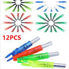 Hunting Luminous Led Nock for Inner Diameter 6.2mm Compound Bow Arrow Pack of 12