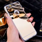 Ultra Thin Luxury Mirror Silicone Bumper For iPhone 6 6 Plus 5s Case Cover Shell