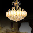 MIL European Style Fashion Creative Crystal Chandelier Home Decor Ceiling Lamps