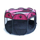 Portable Pet Kennel Large Dog Cat Oxford Playpen Tent Exercise Fence Cage Crate