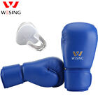 Wesing Boxing Gloves with mouth guard sets AiBa Gloves competition equipments