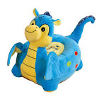 Fantastic Children's Plush Dragon Riding Chair- available in Pink or Blue