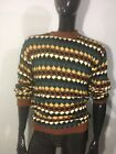 Vintage 80's-90's Eddie Bauer Outdoor Outfitter Knitted Multi-Color Size Larg