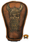 Hand Tooled and Hand Made Leather Motorcycle Seat Harly Davidson Sportster