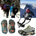 Snow Ice Cleats Anti-Slip Shoes Covers Studded Boot Crampons for Men and Women