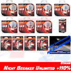 OSRAM Night Breaker Unlimited up to +110% ALLE H1 H3 H4 H7 H8 H11 HB3 HB4