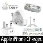Genuine Charging Cable Charger For Apple Iphone 4,4s,5,5s,6,6s,se,ipod,ipad1 2 3