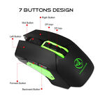 4800DPI Optical Pro Gaming Wrieless Mouse 2.4GHz Ergonomics Mice For Laptop PC