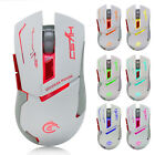 2400DPI Optical Pro Gaming Wrieless Mouse 7LED Ergonomics Mice For Laptop PC