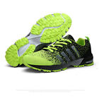Mens Athletic Sneakers Outdoor Training Breathable Running Casual Sports Shoes