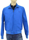 $665 BURBERRY Brit Sky Blue BRADFORD Mens Bomber Jacket NEW COLLECTION