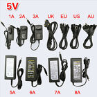 AC 110V-220V TO DC 5V 12V 24V Power Supply Adapter Transformer LED Strip Light